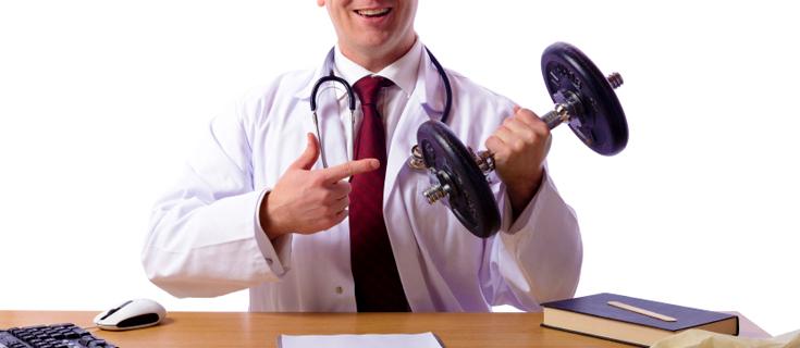 prescribe excercise